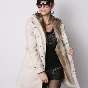 Thicken Fleece Faux Fur Warm Winter..